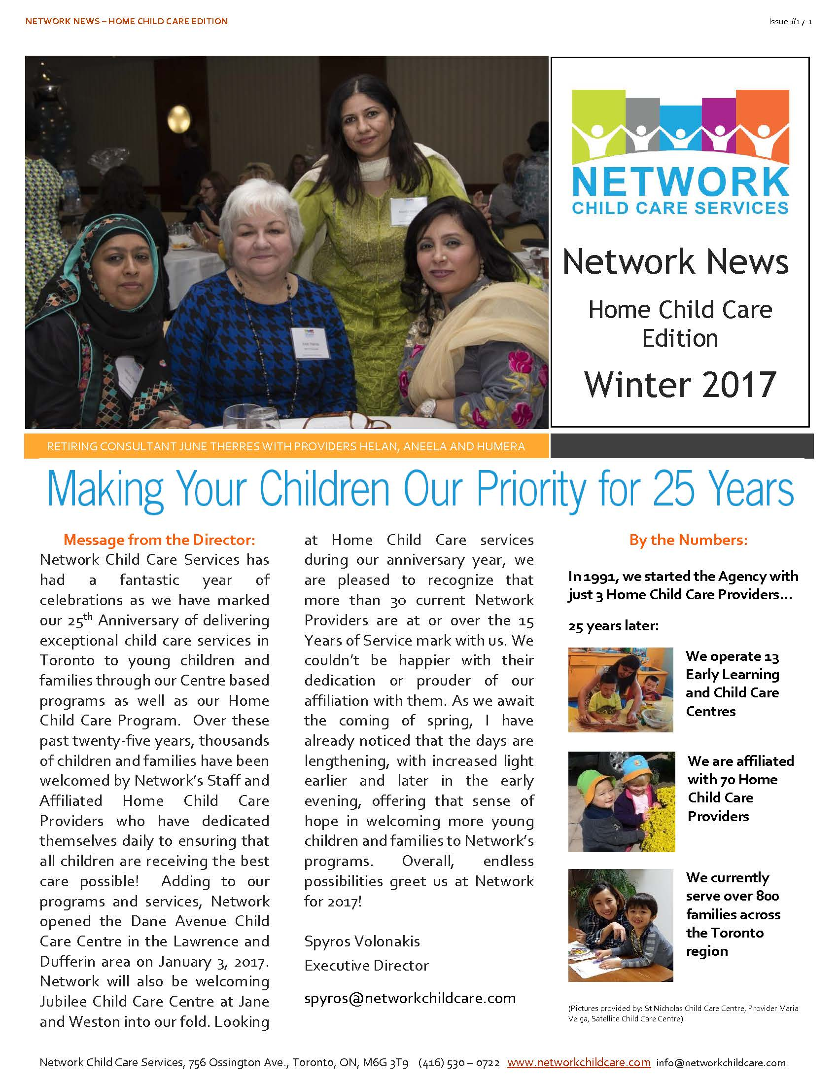 Network Child Care Newsletter - HCC - 17-1